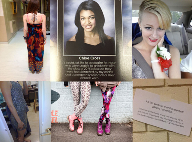 3f34b386c8 A Brief History of Mic Drop Responses to Dress Codes Targeting Teen Women