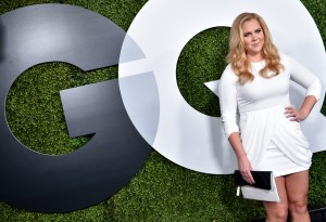 Amy Schumer at the GQ 20th Anniversary Men Of The Year Party.