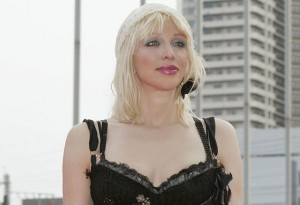 Courtney Love attends the MTV Video Music Awards Japan 2003.