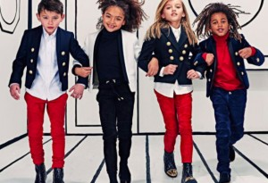 Balmain is offering clothes for kids now.