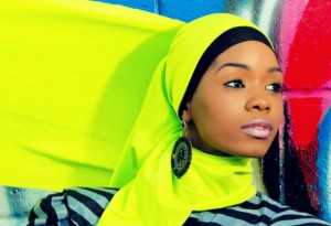Fashion blogger Naballah Chi.