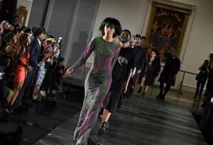 Models at NYFW.