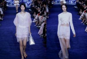 Dior looks in Beijing.