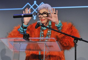 Iris Apfel designed awesome wearable tech.