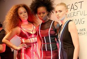 Chromat Fall 2016 fashion show.