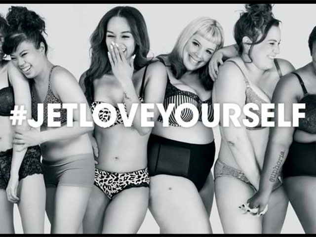 Jet's Lingerie Campaign Didn't Just Go for Body Diversity, They Cast Women With Accomplishments