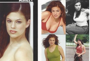 Ashley Graham, at age 13 being ridiculously confident and good looking, via Instagram.