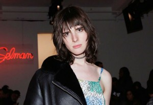 Model Hari Nef attends the Adam Selman fashion show during Fall 2016 MADE Fashion Week at Milk Studios on February 11, 2016 in New York City. (Photo by Mireya Acierto/Getty Images)
