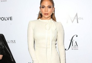 "WEST HOLLYWOOD, CA - MARCH 20:  Actress Jennifer Lopez attends the Daily Front Row ""Fashion Los Angeles Awards"" at Sunset Tower Hotel on March 20, 2016 in West Hollywood, California.  (Photo by Frederick M. Brown/Getty Images)"
