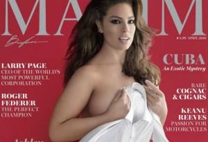 Ashley Graham in April's Maxim