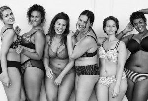 Body diversity courtesy of Lane Bryant ad via Instagram.