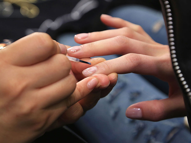 Why You Should Consider Tinted Nail Polish You Can Barely See for Spring