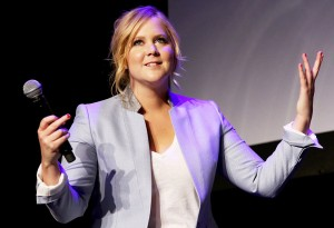 NEW YORK, NY - APRIL 19:  Actress Amy Schumer speaks at Tribeca Talks: After the Movie: Inside Amy Schumer during the 2015 Tribeca Film Festival at Spring Studio on April 19, 2015 in New York City.  (Photo by Robin Marchant/Getty Images for the 2015 Tribeca Film Festival)