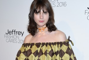 NEW YORK, NEW YORK - APRIL 04:  Actress Hari Nef attends the Jeffrey Fashion Cares 13th Annual Fashion Fundraiser at the Intrepid Sea-Air-Space Museum on April 4, 2016 in New York City.  (Photo by Nicholas Hunt/Getty Images)