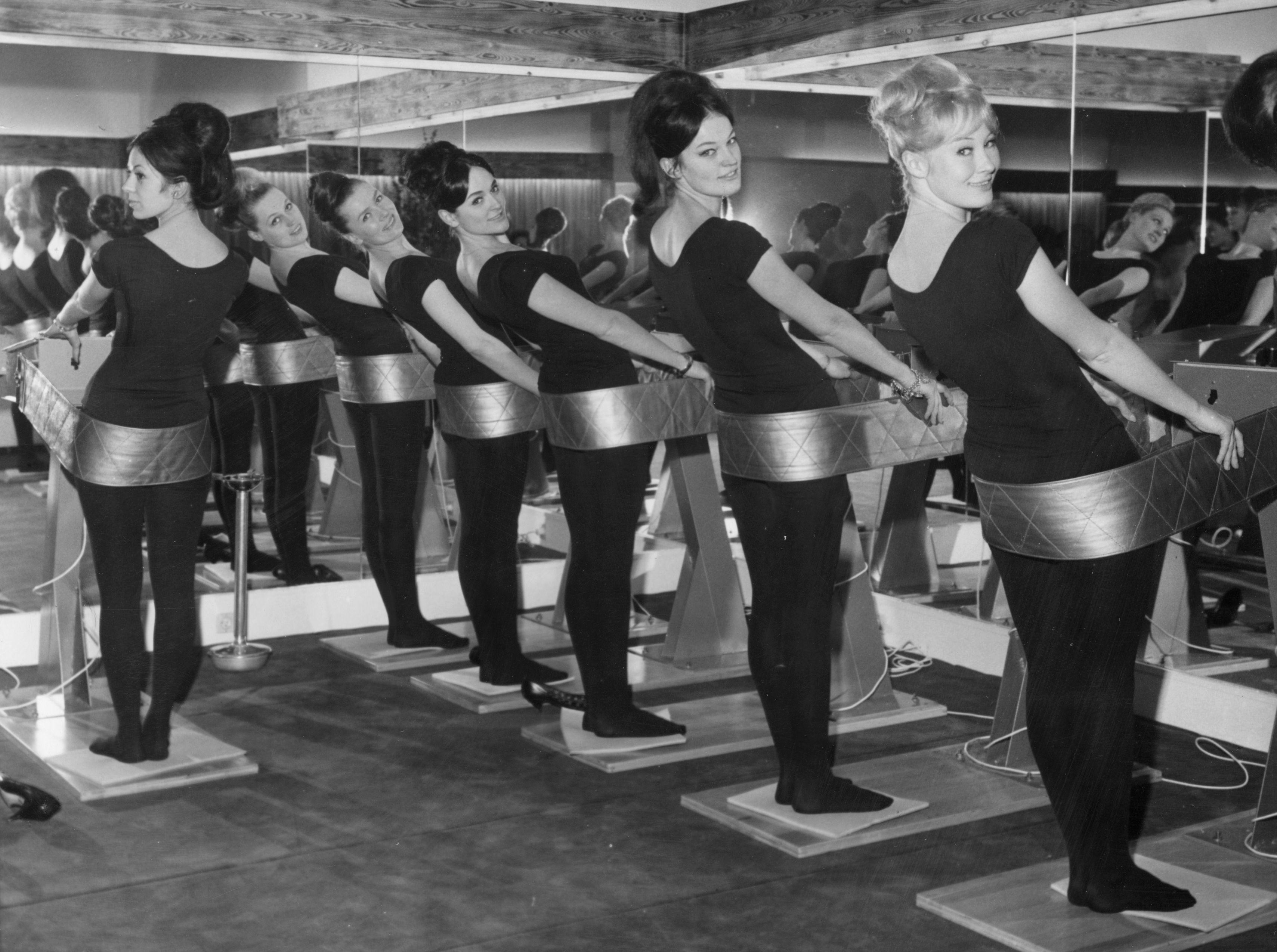 Old beauty training machine