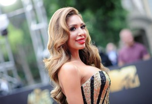 BURBANK, CALIFORNIA - APRIL 09:  TV personality Farrah Abraham attends the 2016 MTV Movie Awards at Warner Bros. Studios on April 9, 2016 in Burbank, California.  MTV Movie Awards airs April 10, 2016 at 8pm ET/PT.  (Photo by Emma McIntyre/Getty Images for MTV)